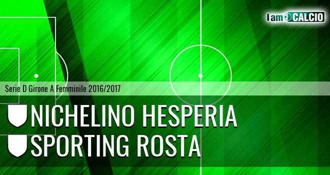 Nichelino Hesperia - Sporting Rosta