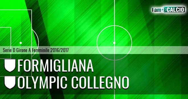 Formigliana - Olympic Collegno