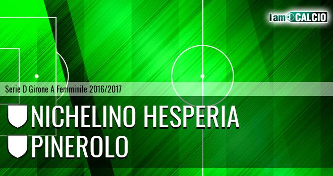 Nichelino Hesperia - Pinerolo