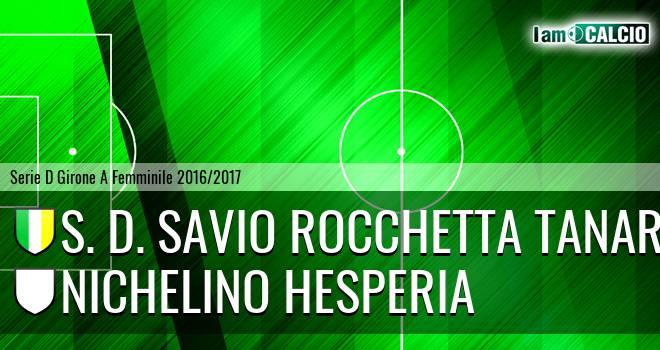 S. D. Savio Rocchetta Tanaro - Nichelino Hesperia