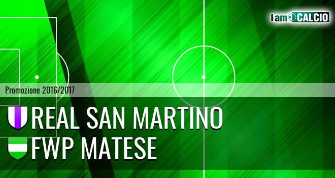 Real San Martino - FWP Matese