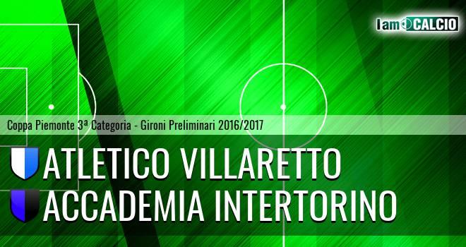 Atletico Villaretto - Accademia Intertorino