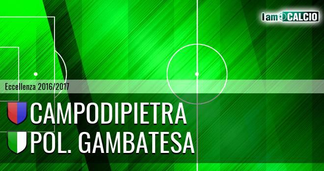 Pol. Campodipietra - Polisportiva Gambatesa