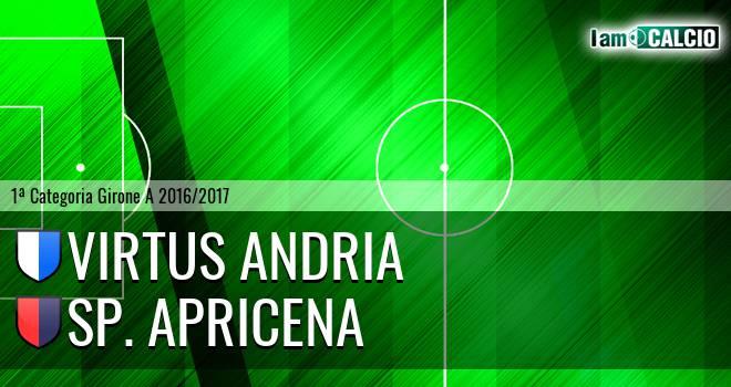 Virtus Andria - Sporting Apricena