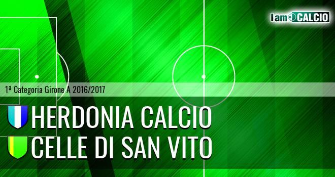 Herdonia Calcio - Celle Di San Vito