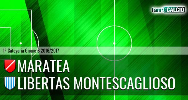 Maratea - Libertas Montescaglioso