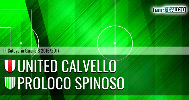 United Calvello - Proloco Spinoso