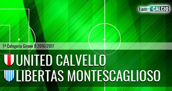 United Calvello - Libertas Montescaglioso