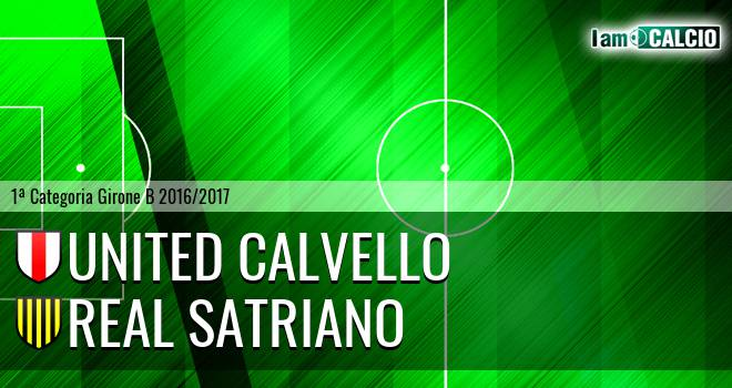 United Calvello - Real Satriano