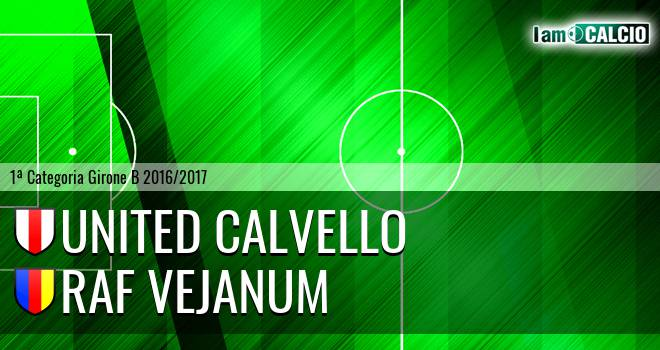 United Calvello - Raf Vejanum