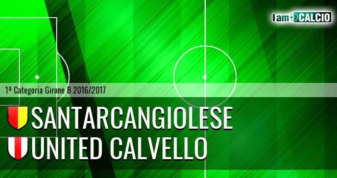 Santarcangiolese - United Calvello