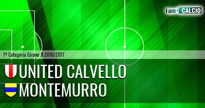 United Calvello - Montemurro