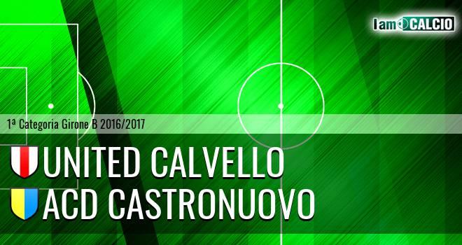 United Calvello - ACD Castronuovo