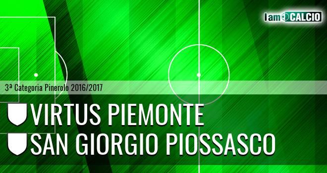 Virtus Piemonte - San Giorgio Piossasco