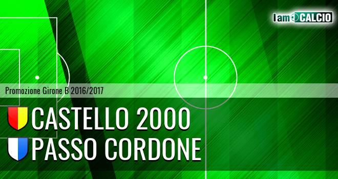 Castello 2000 - Passo Cordone