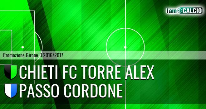 Chieti FC Torre Alex - Passo Cordone
