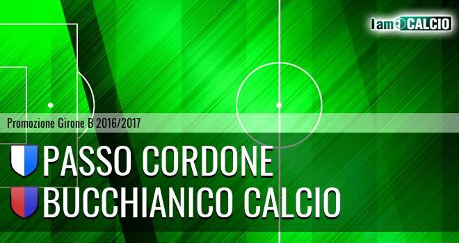 Passo Cordone - Bucchianico Calcio