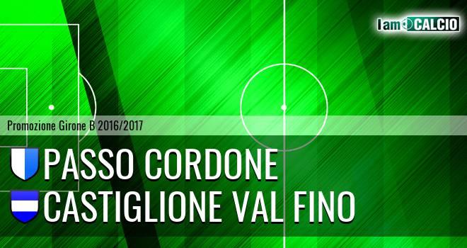 Passo Cordone - Castiglione Val Fino