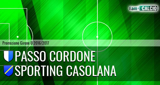 Passo Cordone - Sporting Casolana