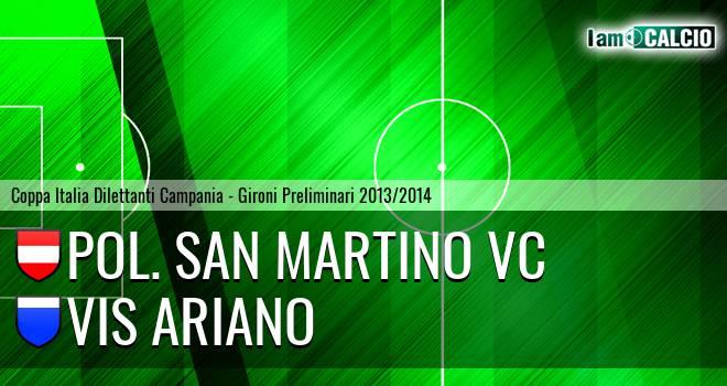 Pol. San Martino VC - Vis Ariano