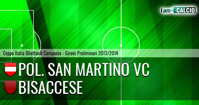 Pol. San Martino VC - Bisaccese