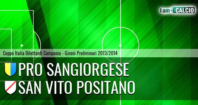 Pro Sangiorgese - San Vito Positano