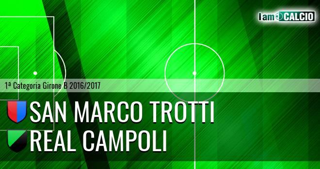 San Marco Trotti - Real Campoli