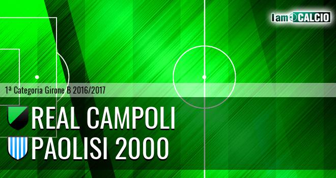Real Campoli - Paolisi 2000