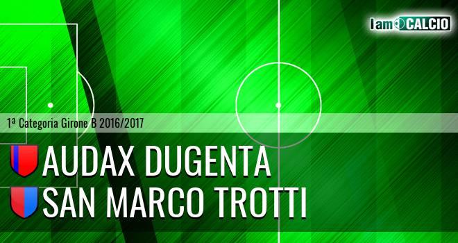 Audax Dugenta - San Marco Trotti