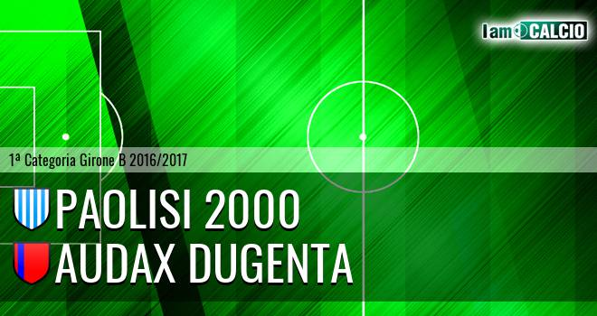 Paolisi 2000 - Audax Dugenta