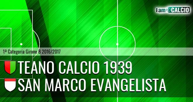 Teano Calcio 1939 - San Marco Evangelista