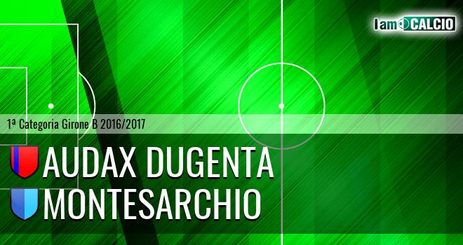 Audax Dugenta - Montesarchio