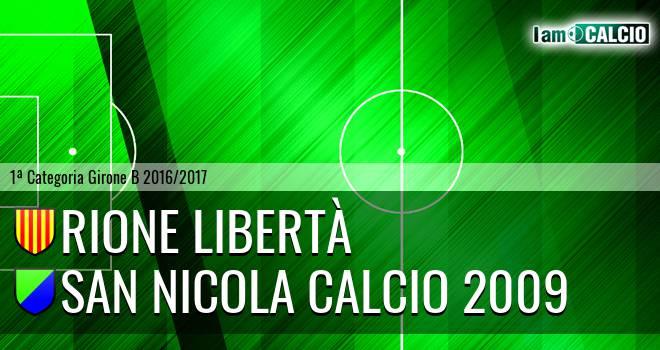 Rione Libertà - San Nicola Calcio 2009