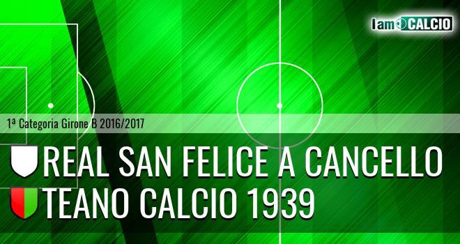 Real San Felice a Cancello - Teano Calcio 1939