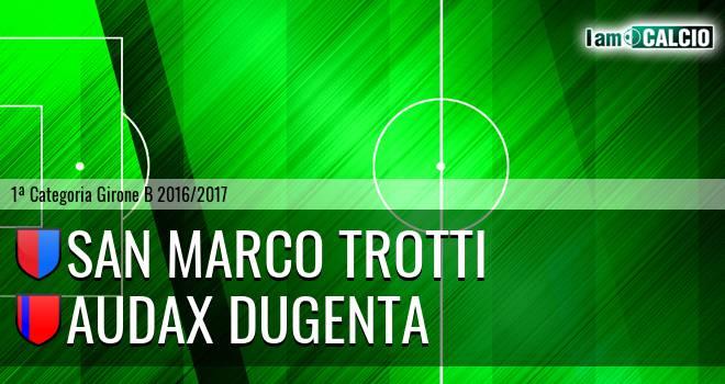 San Marco Trotti - Audax Dugenta
