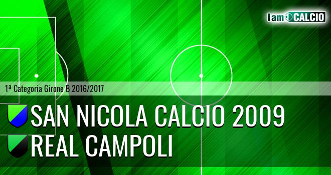 San Nicola Calcio 2009 - Real Campoli
