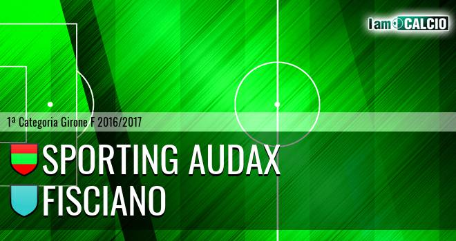 Sporting Audax - Fisciano