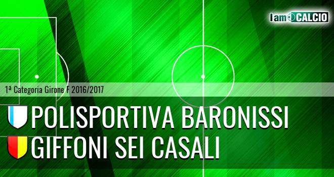 Polisportiva Baronissi - Giffoni Sei Casali