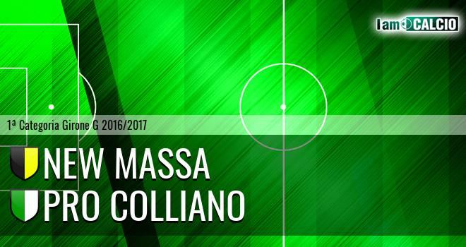 New Massa - Pro Colliano