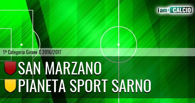 San Marzano - Pianeta Sport Sarno