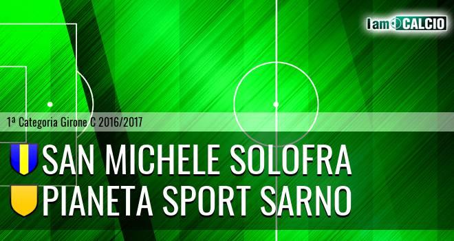 San Michele Solofra - Pianeta Sport Sarno