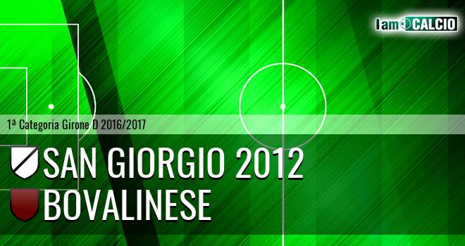 San Giorgio 2012 - Bovalinese