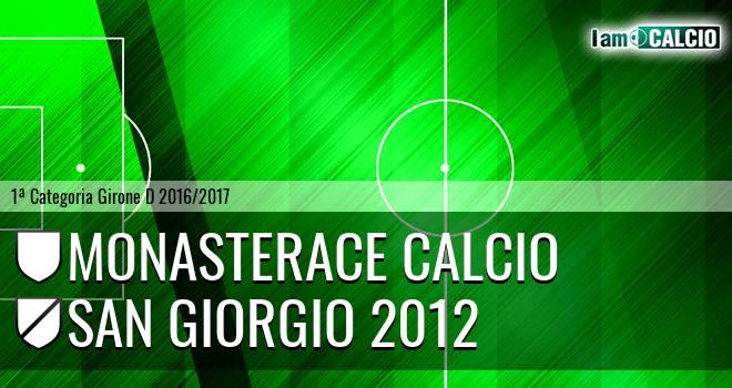 Monasterace Calcio - San Giorgio 2012