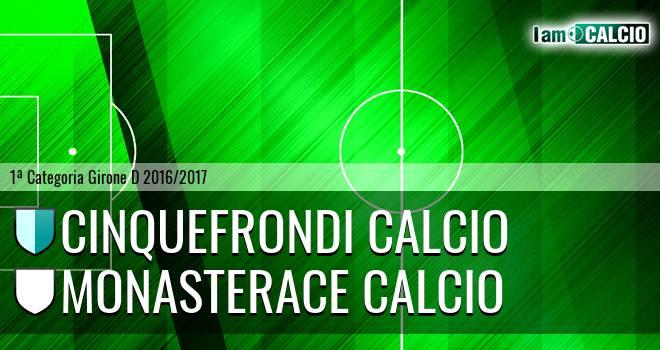 Cinquefrondese - Monasterace Calcio