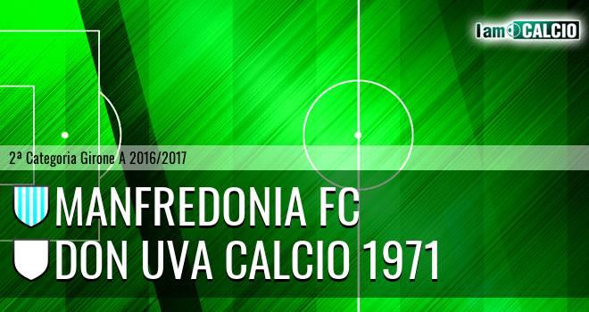 Manfredonia FC - Don Uva Calcio 1971