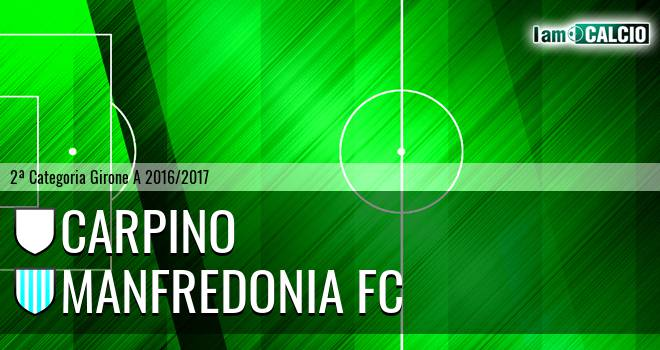Carpino - Manfredonia FC