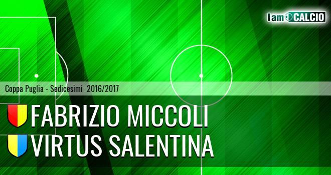 Fabrizio Miccoli - Virtus Salentina
