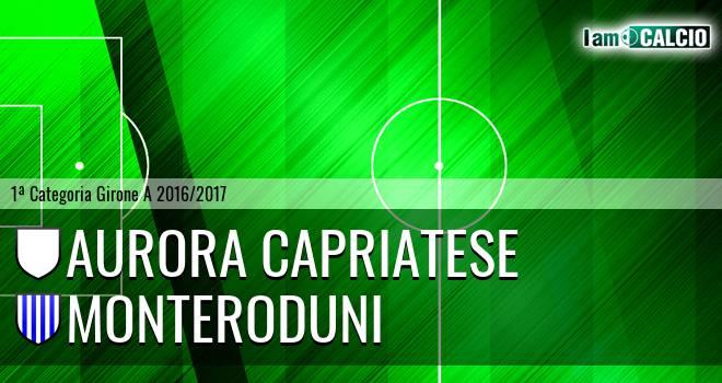 Aurora Capriatese - Monteroduni