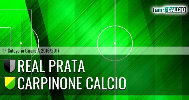 Real Prata - Carpinone Calcio