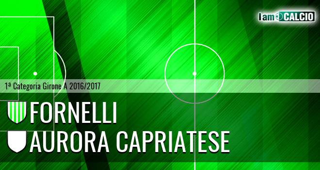 Fornelli - Aurora Capriatese